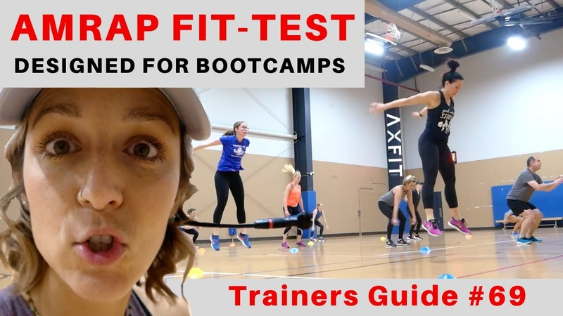 AMRAP Bootcamp FIT TEST Trainers Guide 69