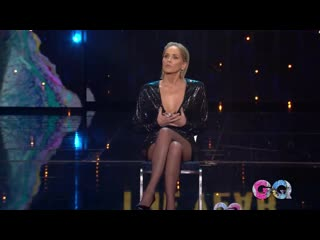 Gq men of the year 2019 – woman of the year_ sharon stone on basic instinct leg