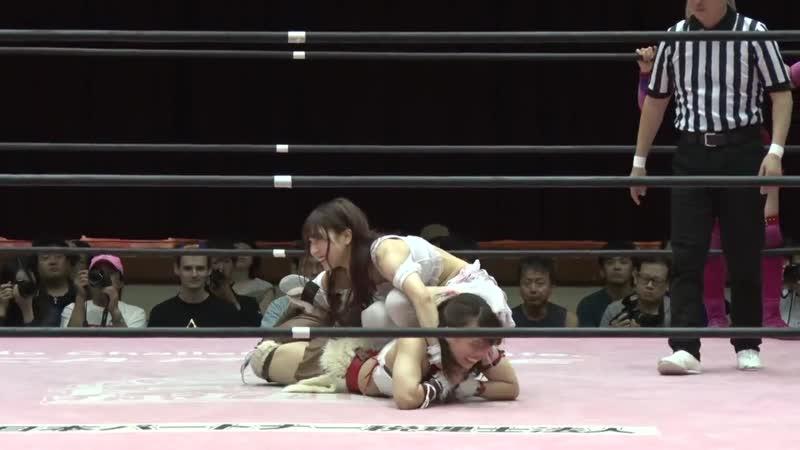 BAKURETSU Sisters Nodoka Tenma Yuki Aino Shoko Nakajima vs Hikari Noa Mizuki Natsumi Maki