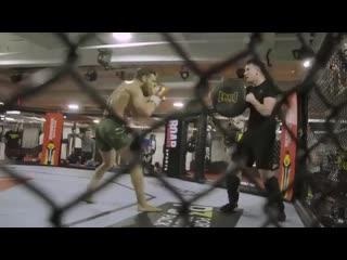 Открытая тренировка Конора МакГрегора в преддверии UFC 246
