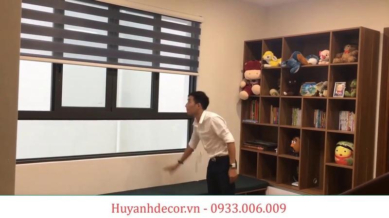 Rèm cửa cầu vồng Hàn quốc Kiểu dáng thông số kỹ thuật khả năng cản sáng