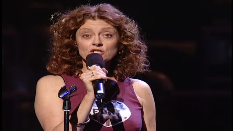 Susan Sarandon No Title = The Concert For New York City To Benefit The Robin Hood Relief Fund