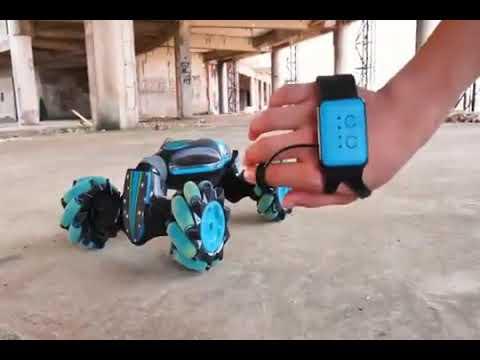 ХИТ 2019! Машинка перевертыш управление жестами Twister rc Stunt Cars