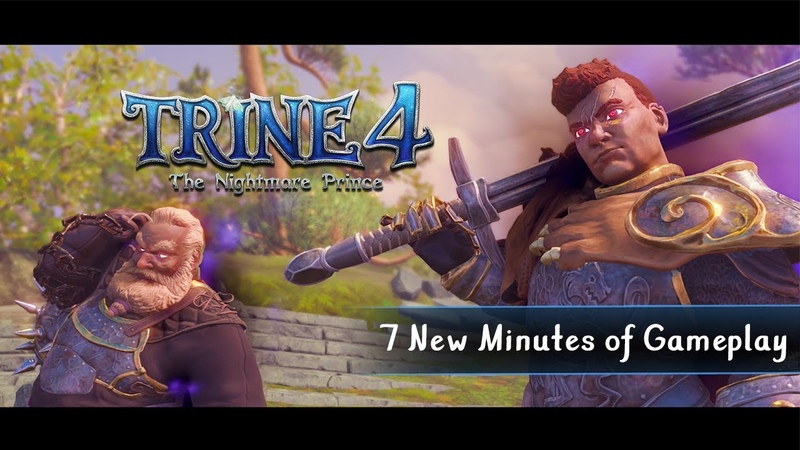 Trine 4 - 7 New Minutes of Gameplay from PAX West   Available Oct 8
