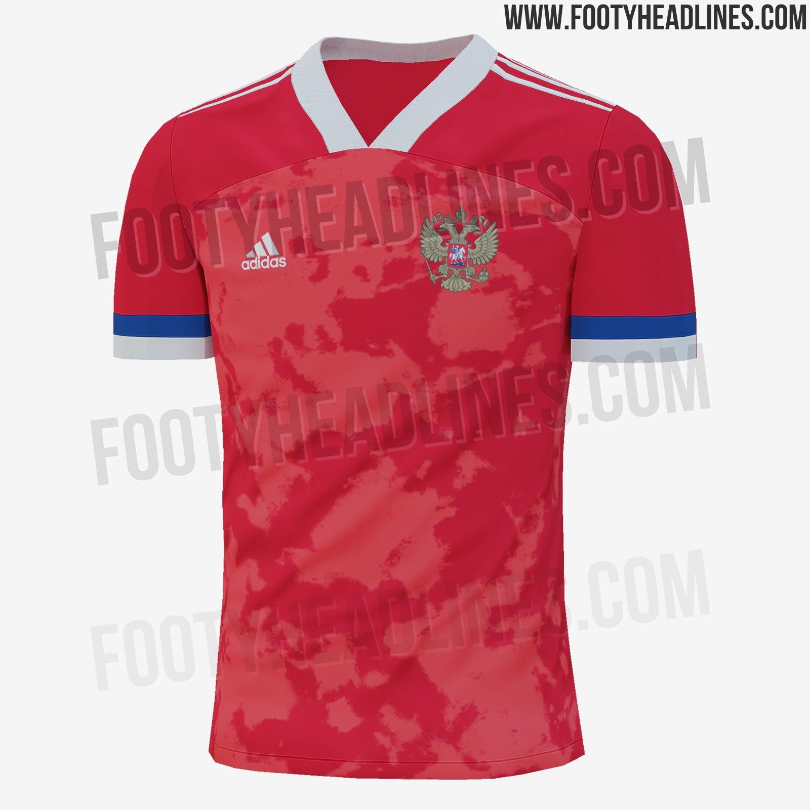 Опубликованы фото футболки сборной России на Евро-2020