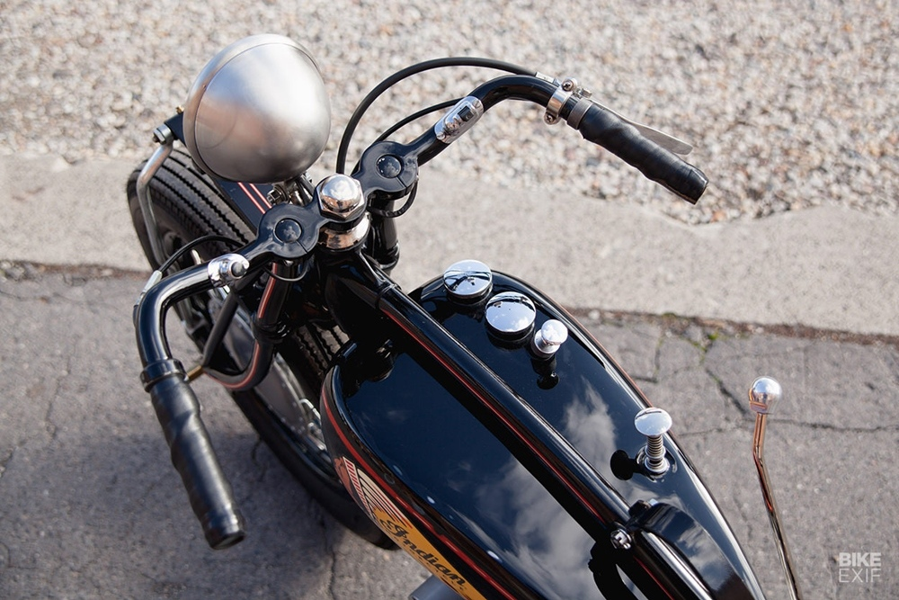 Herzbube Motorcycles: кастом Indian Scout 101