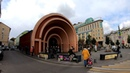 ⁴ᴷ⁵⁰ Walking Moscow Moscow Center from Krasnye Vorota Metro St till Chistye Prudy Metro St