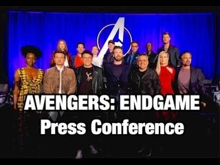 [FULL] Marvel 'AVENGERS: ENDGAME' Press Conference | Chris Evans, Scarlett Johansson