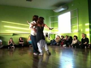 Cecilia Garcia y Serkan Gokcesu - performance at DNI -