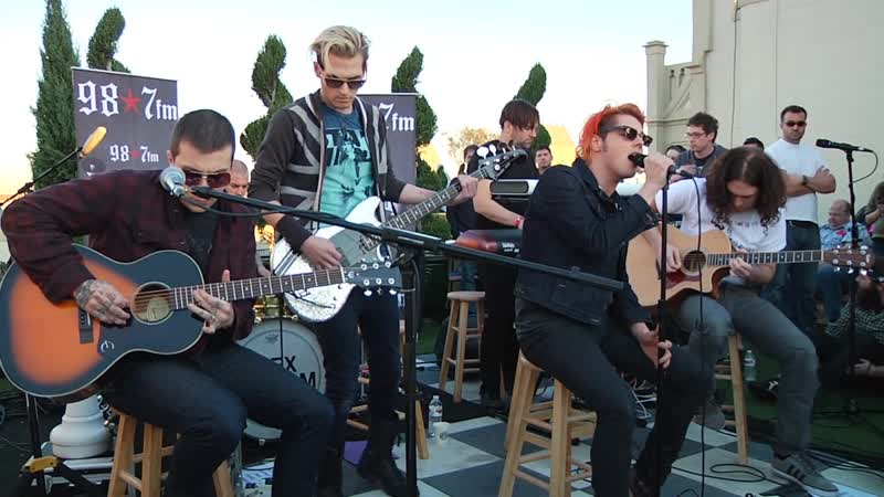 My Chemical Romance -The Ghost Of You (Live Acoustic)