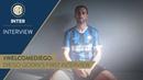 DIEGO GODIN First Inter TV Interview WelcomeDiego! 🎙️⚫️🔵