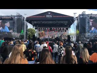 Праздничные мероприятия, посвящённые закрытию мотосезона,  Rally Minsk 2019. Прямой эфир
