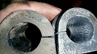 Замена передних стоек и втулок стабилизатора Тагаз/ Хендай Соната 4