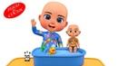 Bugu Bebek Oyuncak Bebeğine Banyo Yaptırıyor Bebek Yıkama Oyunu İle Renkleri Öğreniyorum