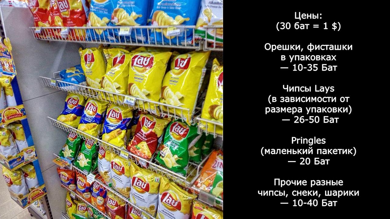Цены на продукты и еду в Таиланде.  CwF-wQ71rEM