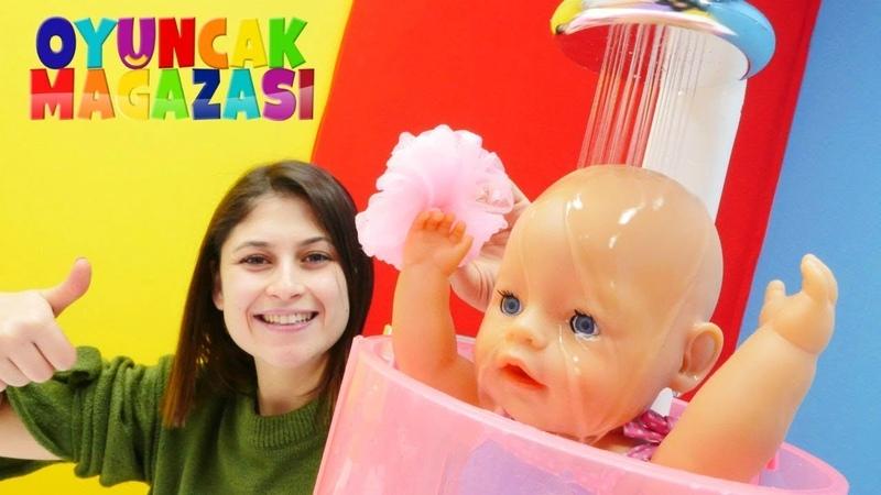 Bebek bakma oyunları Oyuncak mağazası seçkin bölümler Yeni oyuncak top havuzu