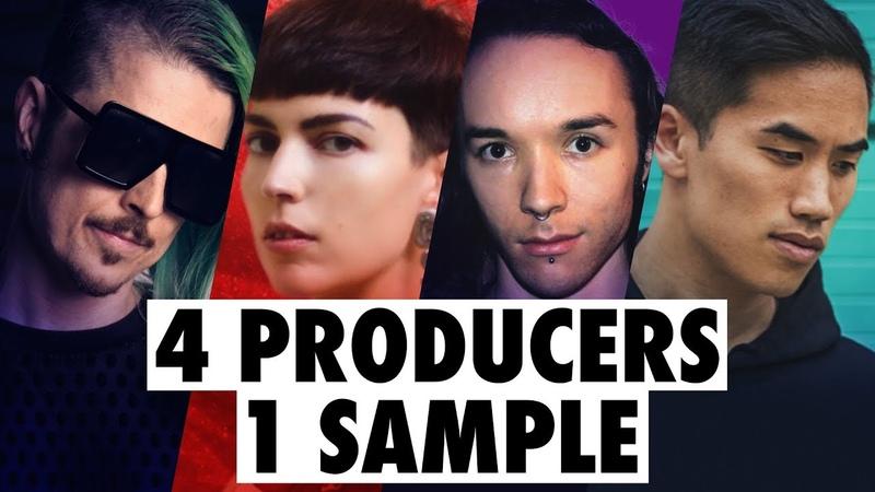 4 PRODUCERS FLIP THE SAME SAMPLE feat. Au5, ill.Gates, Drum Lace