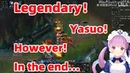 ENG SUB Minato Aqua's Legendary Yasuo Howerver in the end… Hololive Vtuber湊あくあ League of Legends