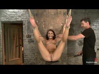 Adriana Chechik Hogtied bondage bdsm spank spanking slave milf m