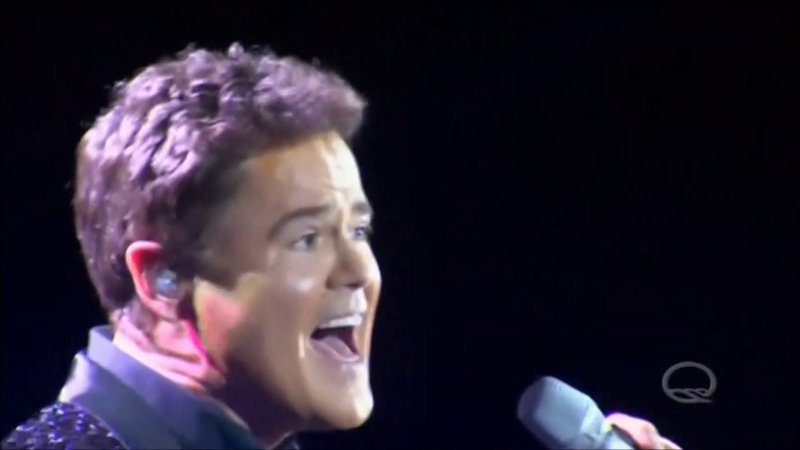 Donny Osmond sings Let's Stay Together Live in Concert HD 1080p