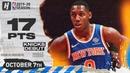 RJ Barrett IMPRESSIVE Knicks Debut Highlights vs Wizards October 7 2019