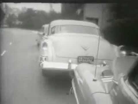 Изобретение в 1932 году Брукса Уолкера - парковка при помощи запаски(Cadillac 1951).
