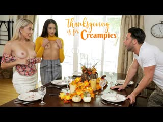 Avi Love, Paisley Bennett - Thanksgiving Is For Creampies - All Sex Teens Petite