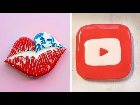 Top 10 Awesome Cookies Decorating Tutorials | So Yummy Dessert Recipes | Satisfying Cookies Videos