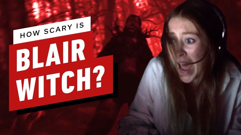 How Scary is the Blair Witch Game