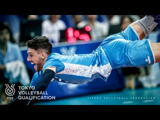 Amazing Volleyball Rally | Great Defences | Men's OQT 2019