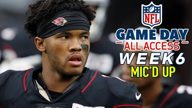 NFL Week 6 Micd Up, I should have started you in fantasy! | Game Day All Access