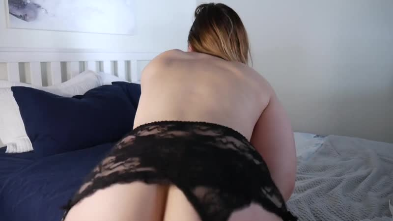 Ashley Alban bbw pawg big ass booty butts big legs big thigh stockings lingerie close up dildo pov blow