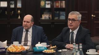 Пресс-завтрак с вице-губернатором Санкт-Петербурга Княгининым В.Н.