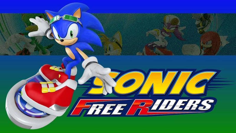 Theme of Rocky Ridge - Sonic Free Riders