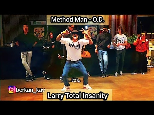 Larry [Les Twins] ▶️Method Man - O.D⏹️ [Clear Audio]