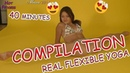 REAL FLEXIBLE YOGA CONTORTION COMPILATION 40 MINUTES HOT FITNESS
