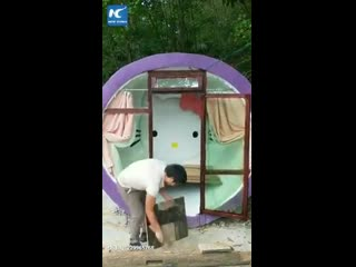 Заботливый отец построил для дочери детскую спальню в стиле Hello Kitty