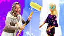 Кукла Барби и Баба Маня. Игры в куклы для девочек. Как пережить ремонт в доме Барби Игры с Плей До
