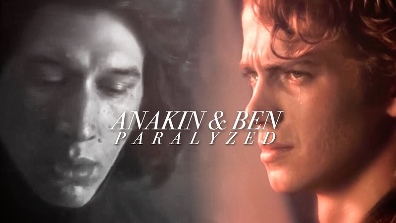 Anakin Skywalker and Ben Solo Paralyzed (tlj spoilers)