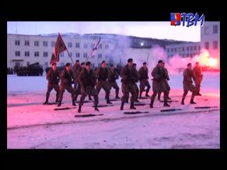 Там, где мы, там- победа! В Спутнике отметили день морской пехоты.