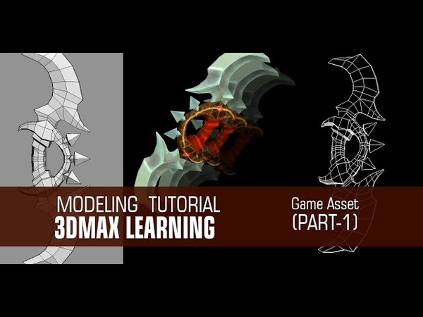 Gaming Asset Modeling In 3dMax with Poly Modeling (Part-1)