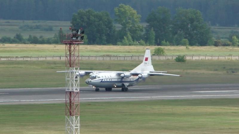 Shaanxi Y 8C 20146 China Air Force Takeoff RWY25 UNNT