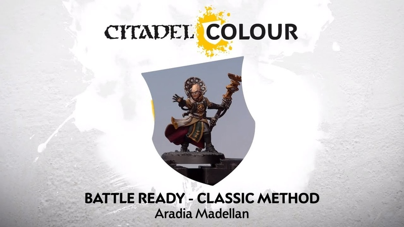 How to Paint: Battle Ready Aradia Madellan – Classic Method