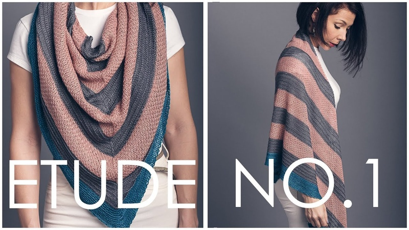 How to Knit Garter Tab Cast On! (Shown in our Etude no 1 shawl)