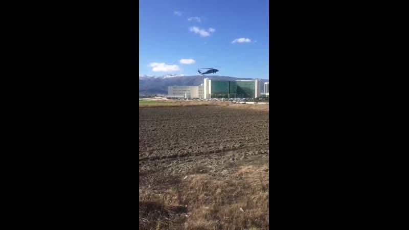 В госпиталь в Антиохии Антакье доставлены турецкие военные раненые 10 февраля 2020 на базе Тафтаназ
