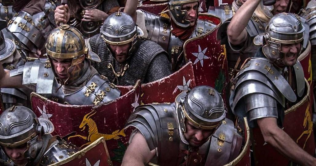 Атака римлян