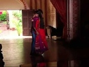 Rudra Paro hug on sets of Rangrasiya