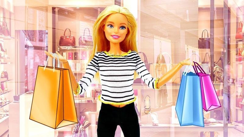 Barbie precisa comprar roupas para o verão! Novelinha de Barbie em português