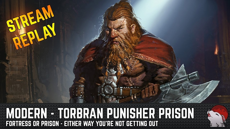 [Modern] Punisher Red Prison - Torbran's Fortress
