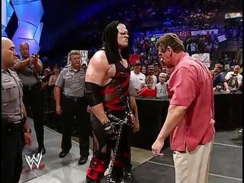 WWE RAW Kane Vs Vince Mcmahon and Stone Cold and Shane Mcmahon